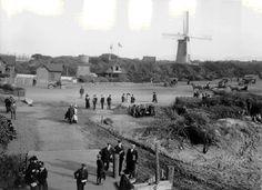 1904 photograph of the Dutch Windmill in Golden Gate Park, San Francisco, California, built in 1903    Photo: Greg Gaar Collection, San Francisco, CA