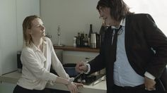 'Toni Erdmann': Cannes Review  Maren Ades third feature film as a director unravels the knots that tie together Peter Simonischek's prankster father and Sandra Huller as his careerwoman daughter.  read more