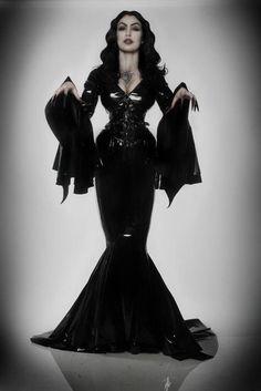 Model Micheline Pitt as Vampira