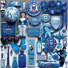Color Study - Blue - 550 Piece Puzzle