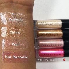NEW Anastasia Beverly Hills High-Shine Lip Gloss Set Anastasia Beverly Hills Mini Lip Gloss Set Best Lip Gloss, Clear Lip Gloss, Lip Gloss Set, Pink Lip Gloss, Shimmer Lip Gloss, Hot Pink Lipsticks, Lipgloss, Best Lipsticks, Matte Lipstick