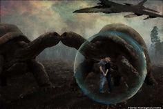 Haris Karagkounidis: Photoshop Manipulation Photography-Timeless Love
