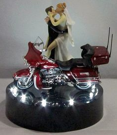 motorbike wedding cake harley davidson wedding cake toppers the wedding 17597
