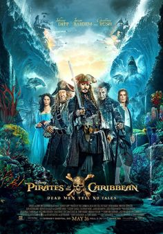 Captain Jack Sparrow (Johnny Depp) finds the winds of ill-fortune blowing even more strongly when deadly ghost pirates led by his old nemesis, the ter K Om, Cinema, English Movies, Film Inspiration, Captain Jack, Comedy Movies, Dead Man, Pirates Of The Caribbean, Johnny Depp