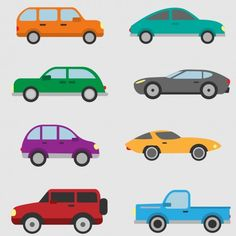 More than a million free vectors, PSD, photos and free icons. Exclusive freebies and all graphic resources that you need for your projects Truck Icon, Car Silhouette, Car Vector, Car Illustration, Vector Free Download, Car Drawings, Car Set, Automotive Industry, Character Design