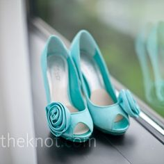 Tiffany Blue high heels, shoes  #tiffany #blue #wedding  www.BrassTacksEvents.com  www.facebook.com/BrassTacksEvents  www.twitter.com/BrassTacksEvent