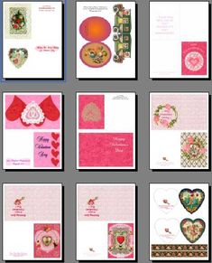 free valentine make card