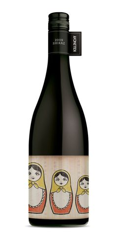 """The Frisky Midget wine labels were designed for Blackwood Valley producer Killinchy Wines."