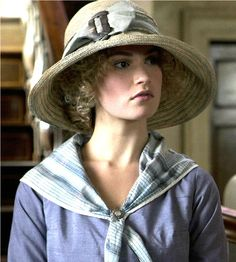 Lady Rose #DowntonAbbey. One of my new favorite characters! http://oztvreviews.com/2011/12/upstairs-downstairs-2010/