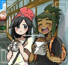 Trainer Moon & Hau