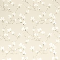 Magnolia Grove Natural Wallpaper at Laura Ashley