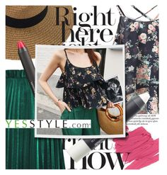 """""""Floral Summer featuring yesstyle.com"""" by cultofsharon ❤ liked on Polyvore featuring Mamonde and WithChic"""