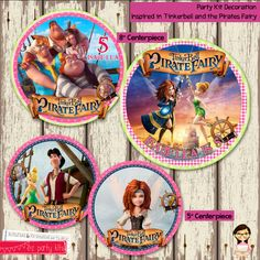 Tinkerbell and The Pirate Fairy PARTY KIT by EZPARTYKITS, $20.00