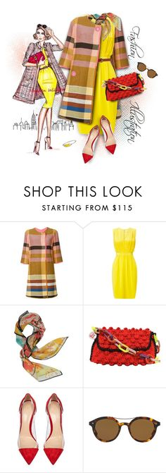 """""""Illustration Fashion"""" by ysmn-pan ❤ liked on Polyvore featuring Etro, John Lewis, Vivienne Westwood, Missoni, Gianvito Rossi, Giorgio Armani, Marc by Marc Jacobs, contest and illustration"""