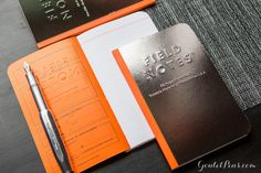 Field Notes Notebooks - Black Ice, Winter 2016 Edition (3-Pack)