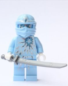 LEGO Ninjago - NRG Zane by LEGO. $13.96. Figure is less than 2 inches tall.