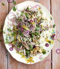 Rindfleisch Stroganoff mit Reis: Das Rezept von Jamie Oliver