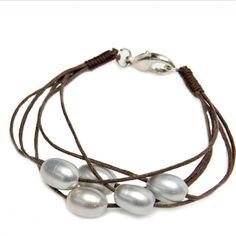 Birkita Multi-Strand Pearl Bracelet
