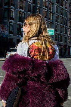 Street style: New York Fall/Winter 2017-2018 Fashion Week 159 - Veronika Heilbrunner