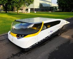 Stella - the world's first solar-powered family car by the Solar Team Eindhoven (STE) of TU/e