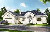 Find your dream traditional style house plan such as Plan which is a 3459 sq ft, 6 bed, 4 bath home with 2 garage stalls from Monster House Plans. Family House Plans, House Plans And More, Traditional House Plans, Traditional Exterior, Monster House Plans, Contemporary House Plans, American Houses, Brick Facade, Craftsman Style House Plans