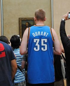 Thunder fans really are everywhere ...