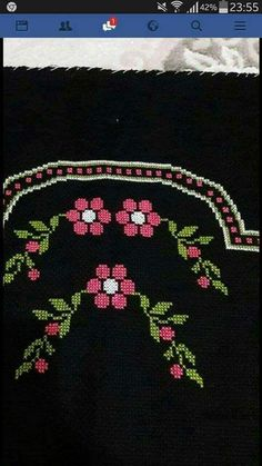 This Pin was discovered by HUZ Easy Crochet Patterns, Cross Stitch Patterns, Teapot Cover, Bordados E Cia, Cross Stitch Boards, Prayer Rug, Yarn Shop, Cross Stitch Flowers, Christmas Cross