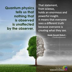 Quantum Physics Tells Us That Nothing That Is Observed Is Unaffected By The Observer - Science Physics And Mathematics, Quantum Physics, Cool Science Facts, Fun Facts, Physics Quotes, Physics Facts, Physics Theories, Science Quotes, Learning Quotes