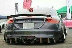 #Audi TT #RS #Slammed #Stance #Custom #Body Kit