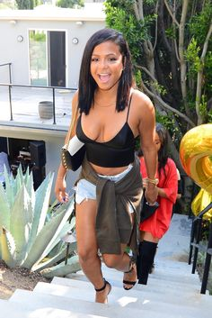 Christina Milian attends A Hollywood Summer Bash August, Christina Milian, Inka, Wedding Dress, Christen, Look At You, Beautiful Black Women, Look Fashion, Hot Girls, Sexy Women
