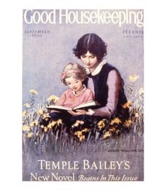Good Housekeeping magazine cover, September 1926 Buy a poster of this cover