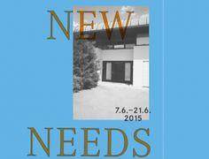"""""""New Needs"""", 2015"""
