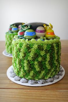 'Teenage Mutant Ninja Turtles' cakes