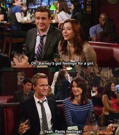 Barney does have feelings!