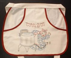 Vintage Clothespin Apron
