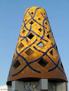 Antonio Gaudi, tornjevi palate Guelj
