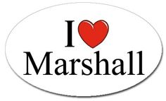 How I Met Your Mother I Love Marshall Sticker