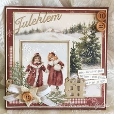Juleklem, Christmas card, The Night Before Christmas