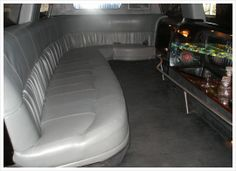 We offer a complete selection of six, eight, ten, fourteen, eighteen, thirty and thirty-four passenger stretch limousines and coaches, as well as luxury sedans including an antique Rolls Royce.