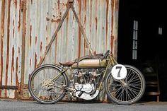1918 Harley-Davidson Board Tracker