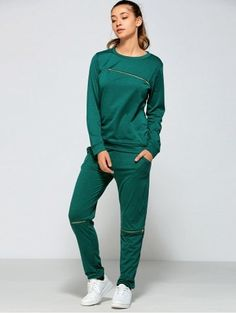 GET $50 NOW | Join RoseGal: Get YOUR $50 NOW!https://www.rosegal.com/gym-outfits/zippered-sweatshirt-and-pants-with-797448.html?seid=6340016rg797448