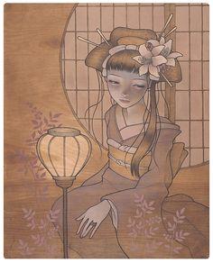 Hitorigoto by Audrey Kawasaki (2009)