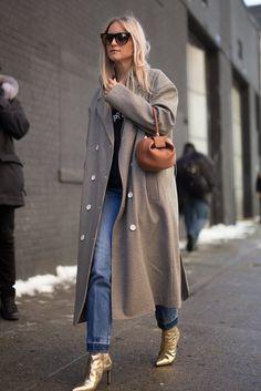 A Menswear-Inspired Coat
