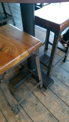 Black flat steel Black Flats, Drafting Desk, Steel, Wood, Furniture, Home Decor, Black Flats Shoes, Woodwind Instrument, Timber Wood