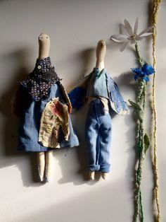 Couple of field's birds,and ,and its bag de la boutique Abouchedecousue sur Etsy
