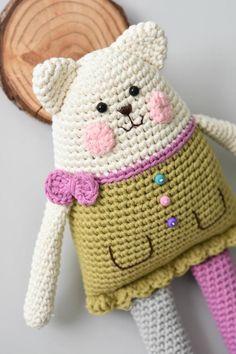 PATTERN Rag doll cat amigurumi pattern crochet pattern | Etsy