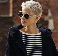 Speziell für Frauen mit blonden Haaren: 10 starke Kurzhaarschnitte in schönen Blondtönen! - Aktuelle Frisuren