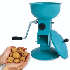 CRACK ALL SORTS OF NUTS QUICK AND PLENTY Taking too long in cracking your nuts out? Save hours from shelling them out one by one. This hand crank nutcracker can do a lot of cracking in one time. Shell out your nuts in speed with the might of this nut chopper!  Crack all types of nuts in just one tool! Want to shell out walnuts, pecans, almonds, hazelnuts, brazilian nuts, macadamia, and pistachio?  Just hit the perfect nut size adjustment and you'll definitely crack their nut shells away!