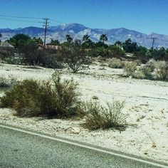 #PalmSprings #mountains #dessert #travel #photography