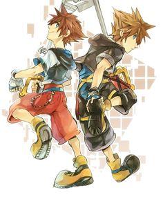 Pixiv Id 748040, SQUARE ENIX, Disney, Kingdom Hearts II, Kingdom Hearts, Sora (Kingdom Hearts)